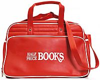Vintage Half Price Books Weekender Bag: Free With $75 Order