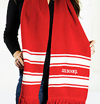 Half Price Books Winter Scarf: Free with $50 Order