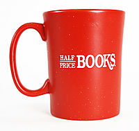 Half Price Books Tall Mug: Free with $100 Order