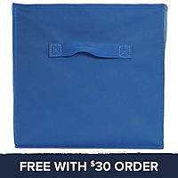 Blue Collapsible Storage Bin: Free With $30 Order