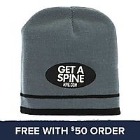 Get A Spine Beanie: Free With $50 Order