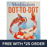Meditation Dot To Dot Book: Free With $25 Order